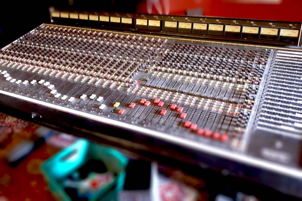 Canalside Studio Recording Desk