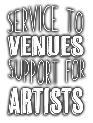 Gigsville - Services To Venues - Support For Artists